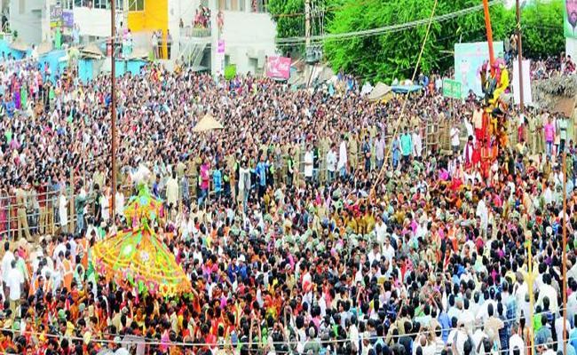 Paidithalli Ammavari Festive Celebrations In Vizianagaram - Sakshi