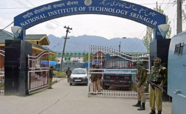 Article 370, Srinagar NIT Reopen - Sakshi