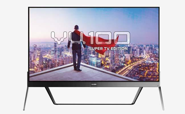 Vu 100 Super TV With 4K 100-Inch Panel, Windows 10 Support Launched  - Sakshi