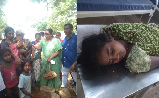 Woman Commit Suicide In Anantapur - Sakshi