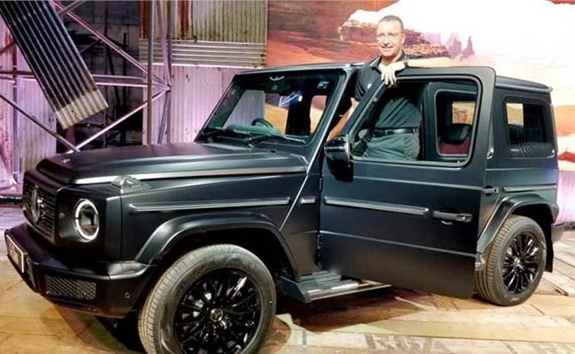 Mercedes-Benz launches G-class SUV G350d priced at Rs 1.50 cr    - Sakshi