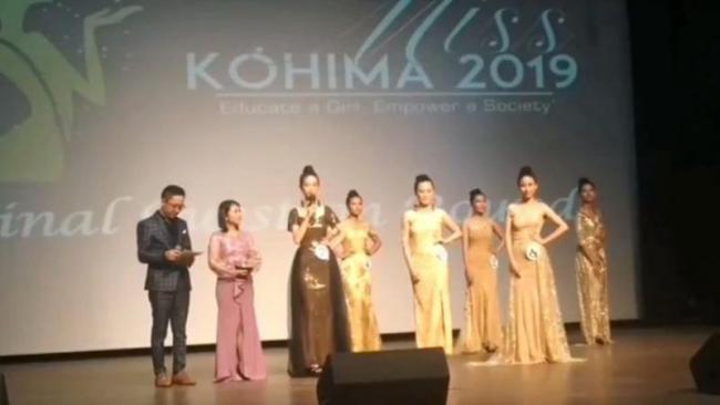 Miss Kohima runner up message for PM Modi - Sakshi