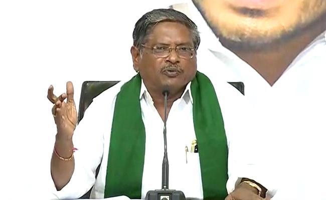 MVS Nagi Reddy Slams Chandrababu Over His Allegations On Rauthu Bharosa - Sakshi