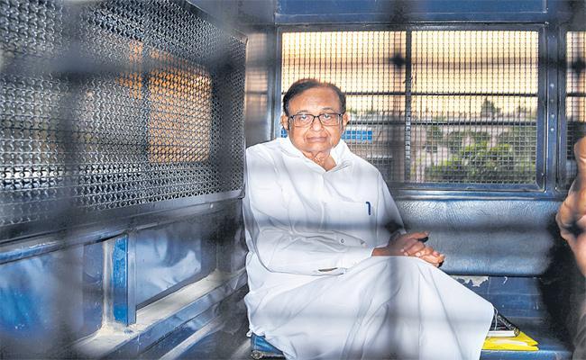 ED Investigate Chidambaram In Tihar Jail - Sakshi
