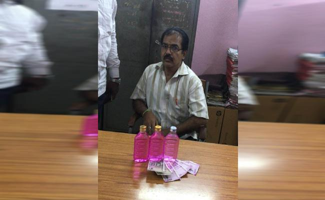 ACB Officers Arrested A Junior Assistant While Corrupting In Vijayawada - Sakshi