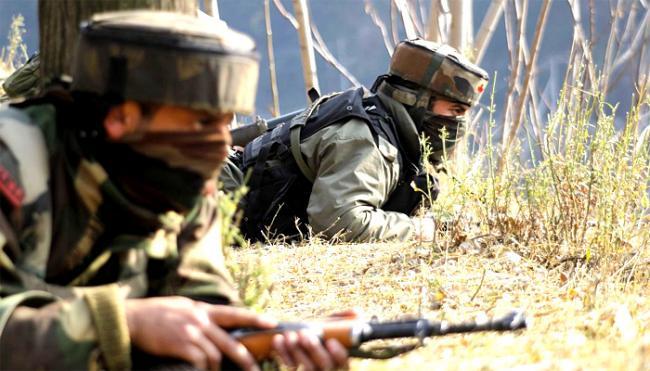 Terrorists Holed Up Inside House In South Kashmir - Sakshi