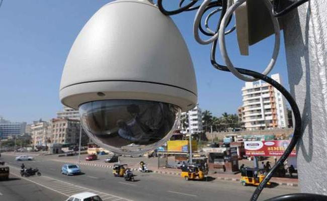 Ten Lakhs CC Cameras Soon in Hyderabad - Sakshi