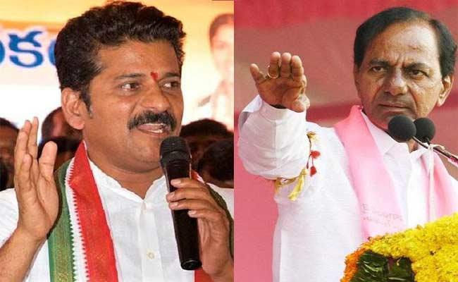 KCR, Revanth Reddy Election Compaign In Nalgonda - Sakshi