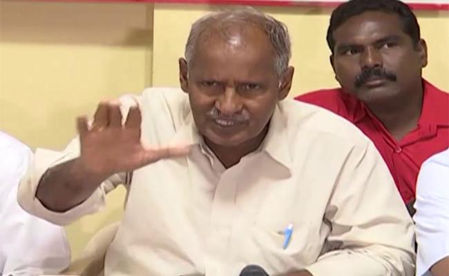CPI Leader Kunamneni Sambasiva Rao Warned the Government on the RTC Strike - Sakshi
