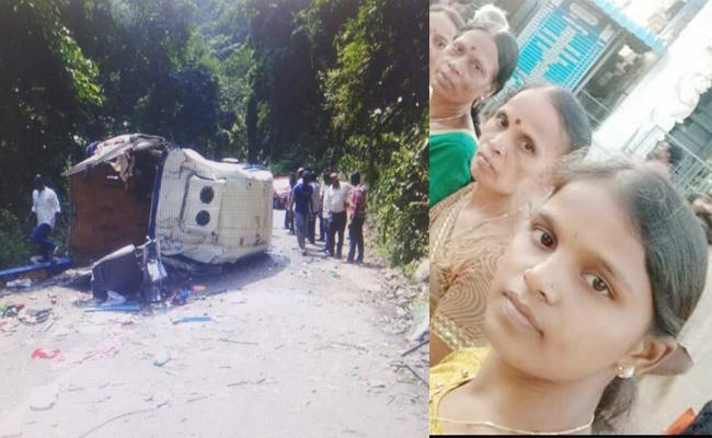 karnataka People Died in East Godavari Bus Accident - Sakshi