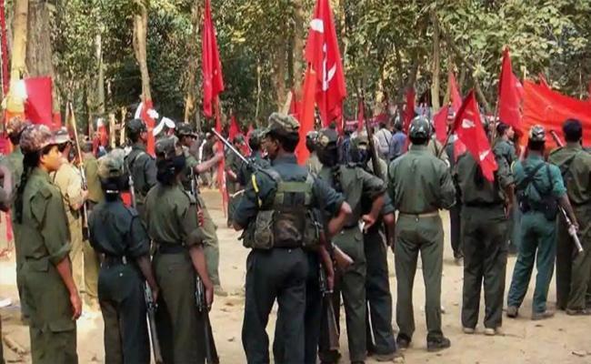 Collection Of Maoists Pamphles In Kataram Warangal - Sakshi