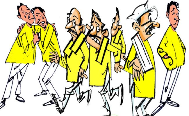 TDP Leaders Away To Districts After Losing General Elections In Tirupati - Sakshi