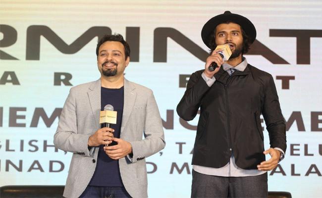 Vijay Devarakonda Launches Terminator Dark Fate Telugu Trailer - Sakshi
