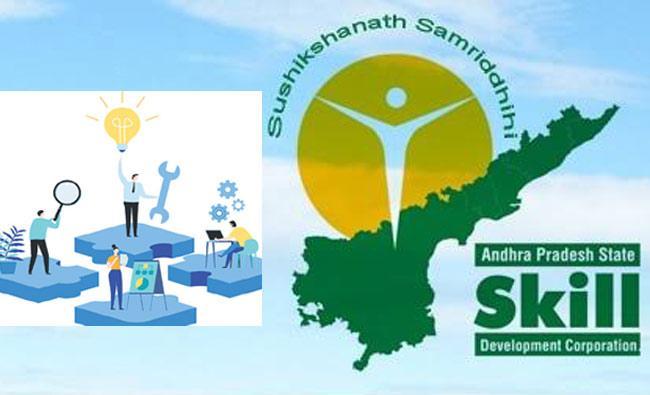 Andhra Pradesh State Skill Development Corporation Proposals - Sakshi
