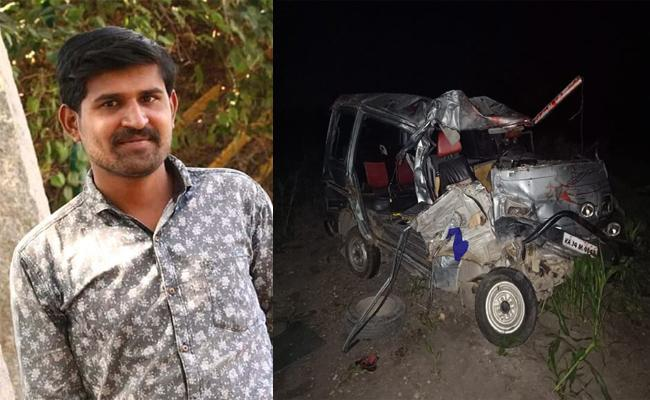 Person Died In Road Accident In Kurnool - Sakshi