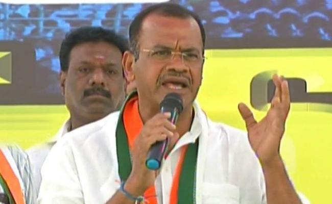 Komatireddy Venkat Reddy comments On KCR Over TSRTC Strike - Sakshi