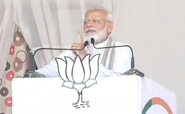 History Will not Forget Those Who Questioned Article 370 Move,Says PM Modi - Sakshi