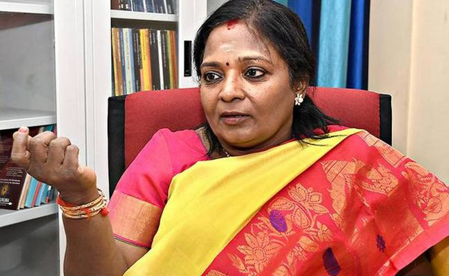 TSRTC Strike: Governor Tamilisai Enquiry About RTC Strike - Sakshi