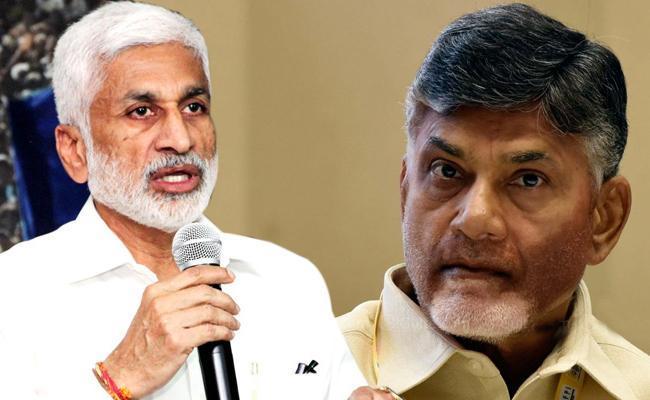 Vijayasai Reddy Slams Chandrababu Over His Comments - Sakshi