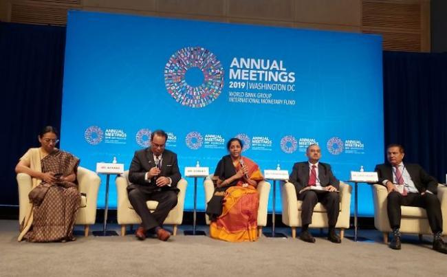 Nirmala Sitharaman Says India Is One Of Fastest Growing Economies - Sakshi