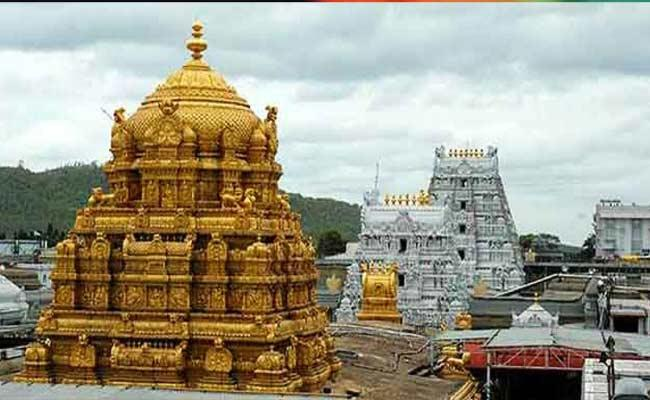 Kanipakam Temple Deposit five Crore To TTD Over Swarna Ratham Making - Sakshi