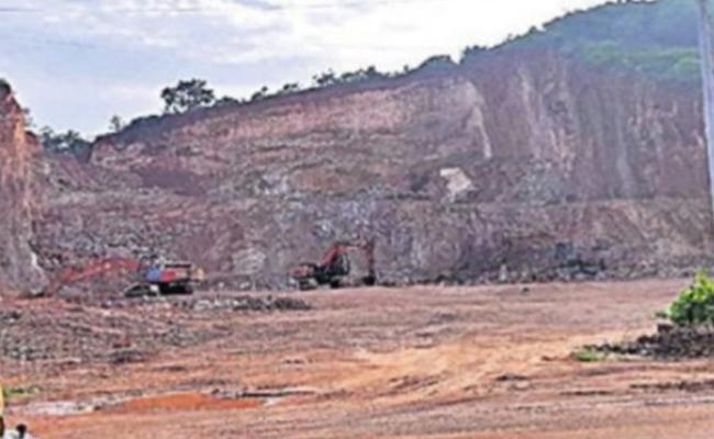 Cancellation Land Allotment To Amoda Publications - Sakshi