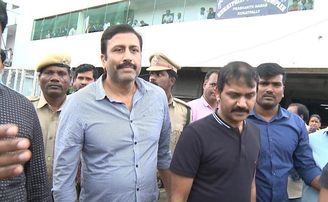 Ravi Prakash Arrested In Another Case In Hyderabad - Sakshi