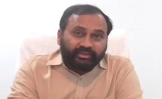 Alla Rama Krishna Reddy Letter To Ys Jagan Over Land Acquisition - Sakshi