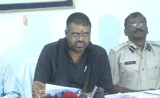 Avanti Srinivas Fires On Vizag Land Occupiers - Sakshi
