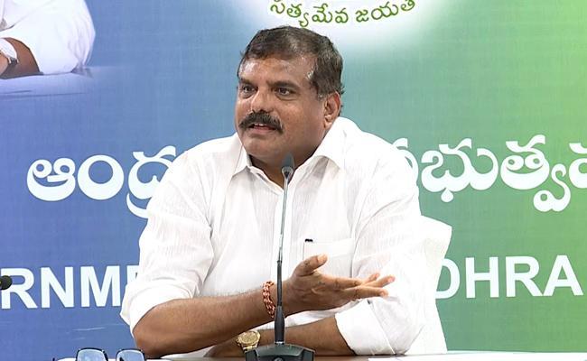 Botsa Satyanarayana Critics Chandrababu Over Action On Freedom Of Press - Sakshi