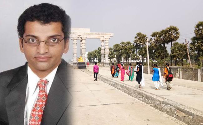 Nannaya university Professor Arrested in Molestation Case - Sakshi