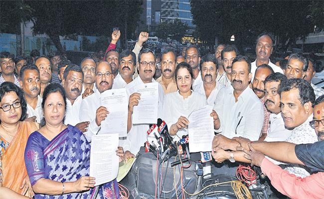 JAC Leaders Meeting With CS Over RTC Strike - Sakshi