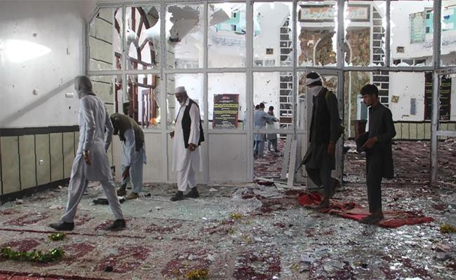 Bomb Blast Inside Mosque During Friday Prayers in East Afghanistan - Sakshi