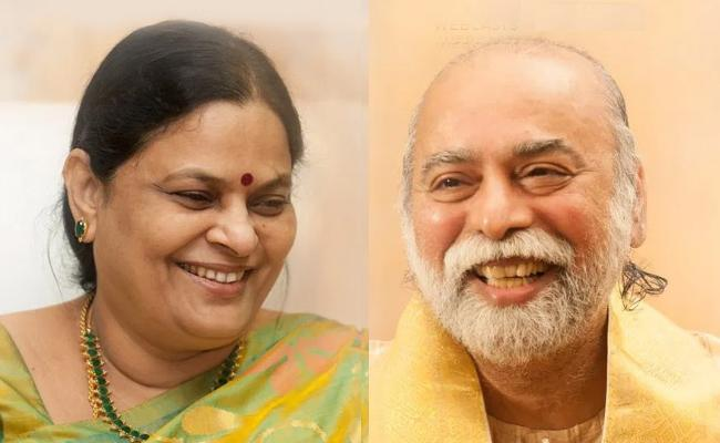 Kalki Bhagavan Couple go underground! - Sakshi