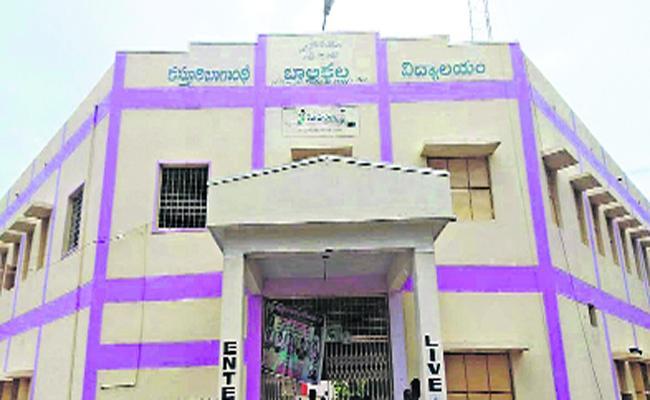 Irregularities In Kasturba Gandhi Balika Vidyalayas Menu In Anantapur  - Sakshi