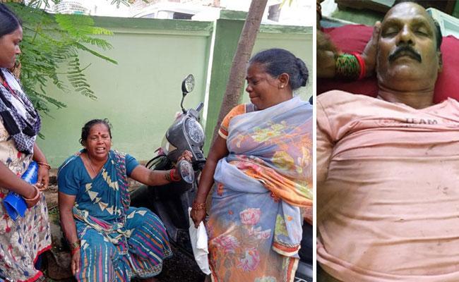 Man Death In Palasa Srikakulam District - Sakshi