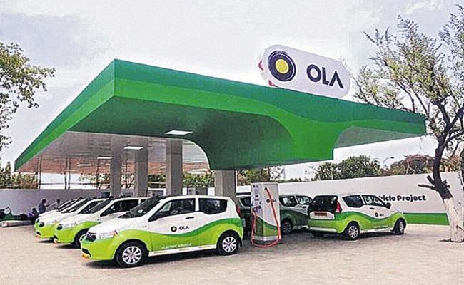 Ola Self Driving Services Starts - Sakshi