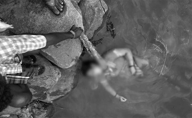 Pregnant Women Commits Suicide in Pond Anantapur  - Sakshi