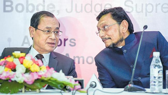 Chief Justice Ranjan Gogoi recommends Justice SA Bobde as next CJI - Sakshi