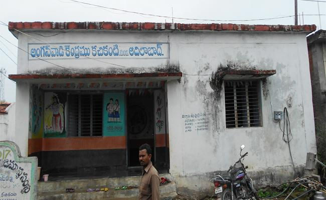 No Quality Food In Anganwadi Centers In Adilabad District - Sakshi
