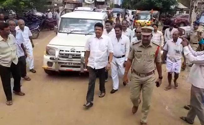 TDP Former MLA Kalamata Venkataramana Arrested - Sakshi