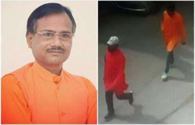 Hindu Samaj Leader Kamlesh Tiwari Murdered - Sakshi