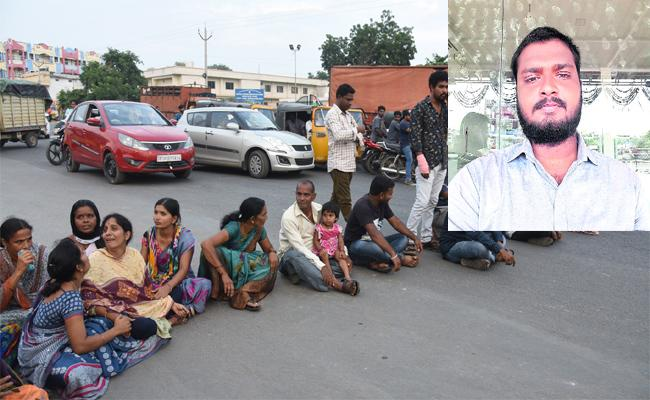 FBO Commited Suicide In Adilabad - Sakshi