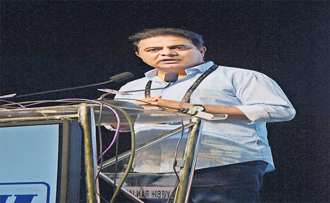 Minister KTR Speech At Telangana Industry Awards 2019 - Sakshi