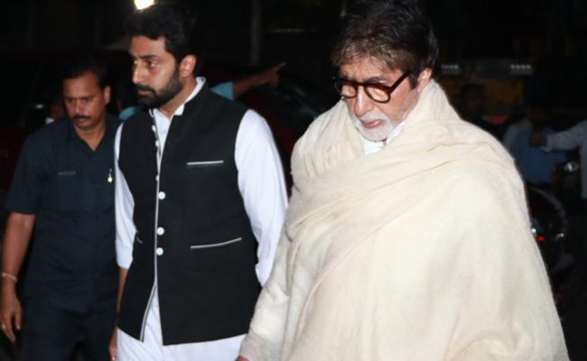 Amitabh Bachchan Discharged From Nanavati Hospital In Mumbai - Sakshi