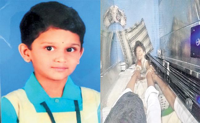Girl Child Died in Strucked Lift Hyderabad - Sakshi