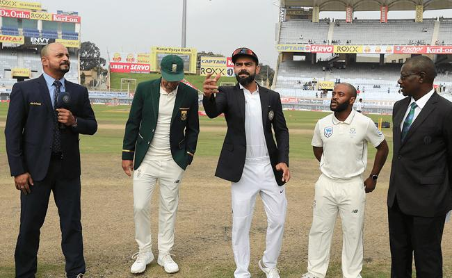 India Vs South Africa 3rd Test Shahbaz Nadeem Makes His Debut - Sakshi