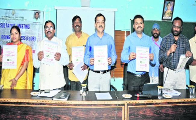 Industrial Chief Secretary Said Industrial Revolution Is Coming Soon In Anantapur - Sakshi
