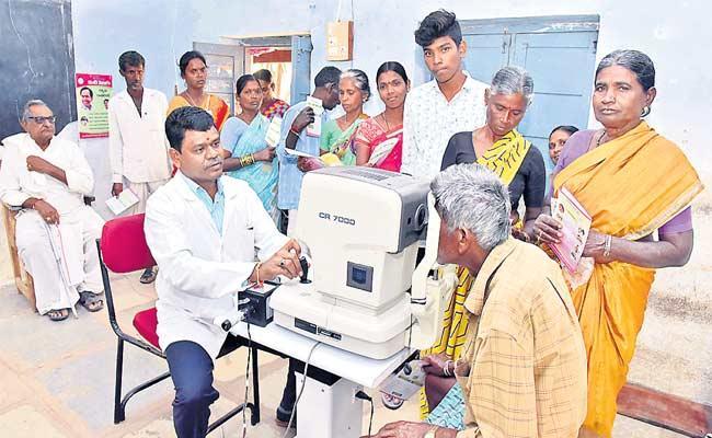 Misuse Of Funds In Kanti Velugu Scheme - Sakshi