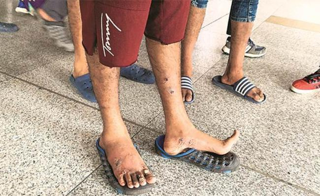 Illegal Migrants From India To Mexico Said We Drink Sweat Squeezed from Shirts - Sakshi